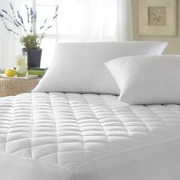 Quilted Waterproof Hypoallergenic BedBug Mattress Pad Cover