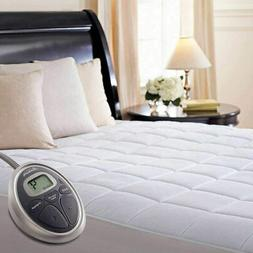Sunbeam Selecttouch Premium Electric Heated Mattress Pad 100