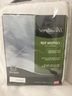 Simmons Beautyrest Cotton Top Mattress Pad