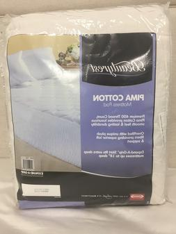 Simmons Beautyrest Pima Cotton Mattress Pad