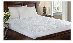 Softesse Hygro 300 Thread Count White Mattress Pad, Full