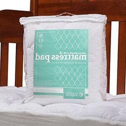 ExceptionalSheets eLuxurySupply Toddler/Crib Mattress Pad -