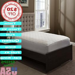 Mattress Pad Cover Topper Pillow Top Bed Protector Best Soft