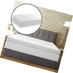 Best Price Mattress Tri-Fold Memory Foam Mattress Topper, 4-