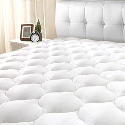 "Masivs Queen Mattress Pad Cover 8-21""Deep Pocket - Overfil"