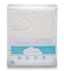 PUREgrace Twin Mattress Protector  made with All Natural Hyp