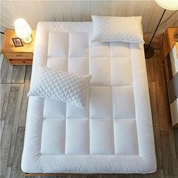 twin size mattress pad cover memory foam
