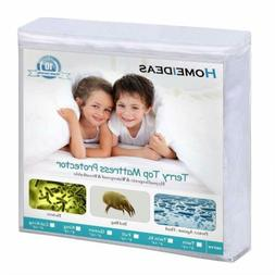 Twin XL Mattress Cover Protector Waterproof Encasement Pad F