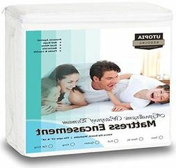 zippered waterproof mattress encasement